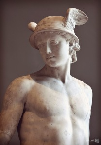 Mercury, Augustin Pajou, Louvre